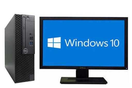 ギフト プレゼント ご褒美 あす楽対応 3 980円以上で送料無料 届いてすぐ使える初期設定済 安心の30日間保証 在宅勤務 テレワーク DELL OPTIPLEX 3050 SFF 液晶セット 30日保証 中古 デスクトップパソコン Windows10 HDD1TB 64bit Core 7500 好評 メモリー4GB i5 DVDマルチ 1298020