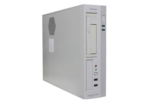 【中古パソコン】【単体】【Windows10 64bit搭載】【Core i5 3470搭載】【メモリー4GB搭載】【HDD500GB搭載】【DVDマルチ搭載】 東芝 EQUIUM 4020 (1292669)