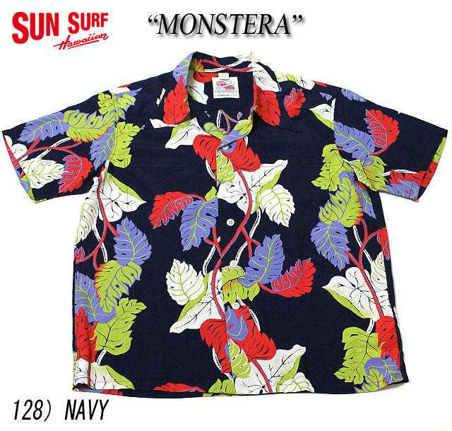 "No.DK36203 DUKE KAHANAMOKU デュークカハナモクS/S SPECIAL EDITION""MONSTERA"""