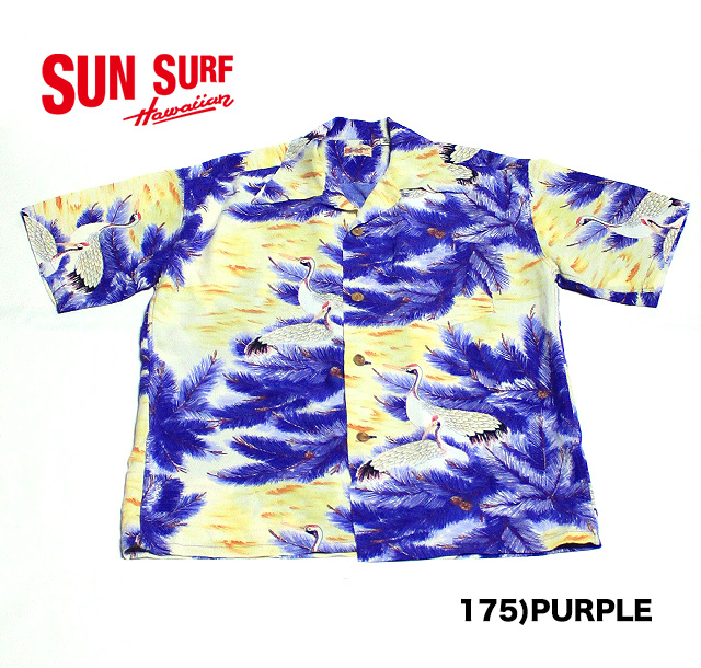 "OF S サンサーフS/ No.SS36427 SUN SURF SHIRTS""CRANE PASSAGE"""