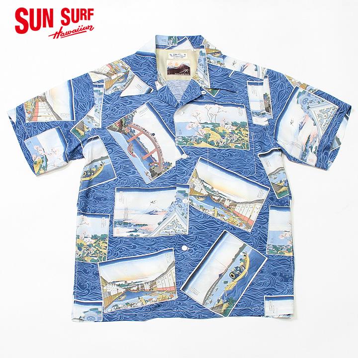 "No.SS38469 SUN SURF × 北齋SPECIAL EDITION""江戸五景"""