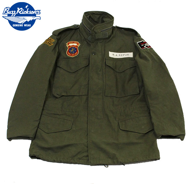 "No.BR13629 BUZZ RICKSON'Sバズリクソンズtype M-65""BUZZ RICKSON MFG.CO.INC""WILD WEASEL 3"