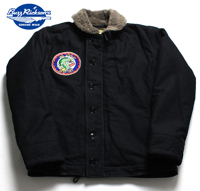 """NO.BR13901 BUZZ RICKSON'S バズリクソンズType N-1 NAVY """"NAVY DEPARTMENT"""" SS-392 STERLET"""