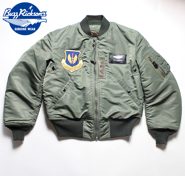 "No.BR13620 BUZZ RICKSON'S バズリクソンズLION UNIFORM INC.type MA-136th Tactical Fighter Wing""Skyblazers"""