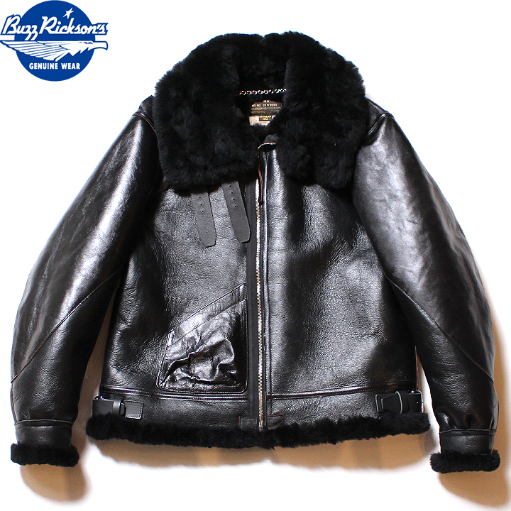 """No.BR80540 BUZZ RICKSON'S バズリクソンズWILLIAM GIBSON COLLECTION""""BLACK B-3"""""""