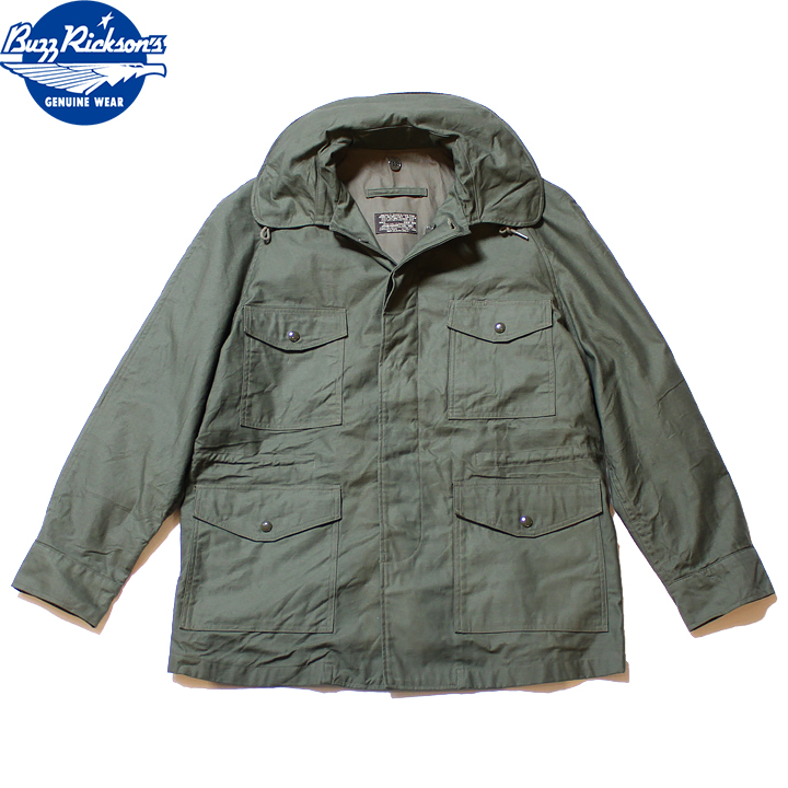 No.BR14404 BUZZ RICKSON'S バズリクソンズJACKET,MAN'S COTTONWIND RESISTANT SATEEN
