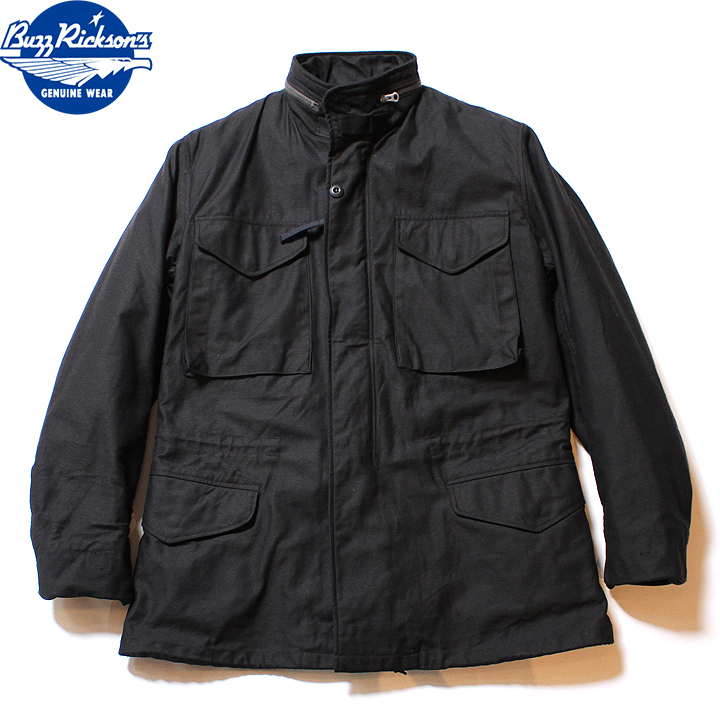 """No.BR14423 BUZZ RICKSON'S バズリクソンズWILLIAM GIBSON COLLECTION""""BLACK M-65 with LINER"""""""