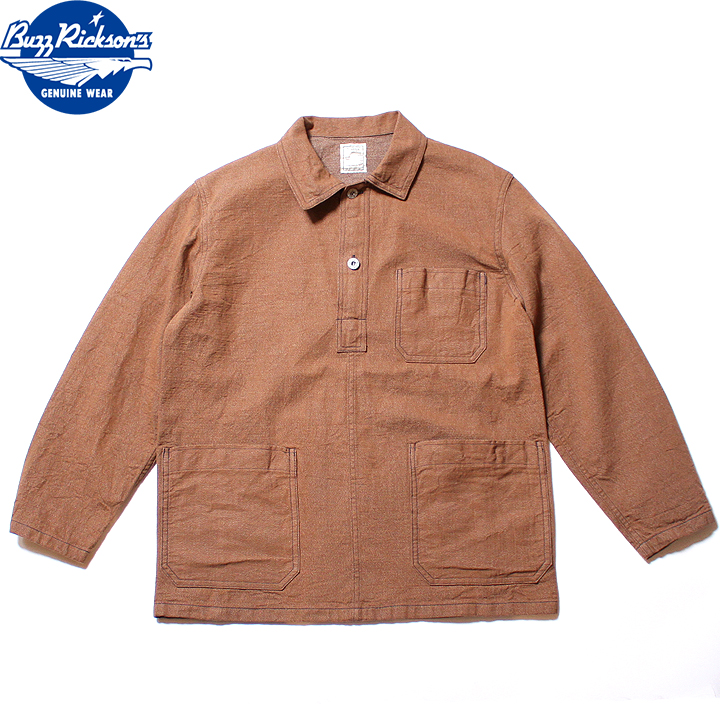 No.BR14580 BUZZ RICKSON'S バズリクソンズWWI BROWN DENIMARMY JUMPER