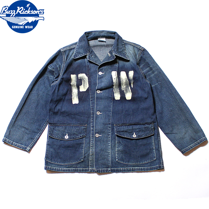 No.BR14606 BUZZ RICKSON'S バズリクソンズUS ARMY DENIMWORKING JACKET PW