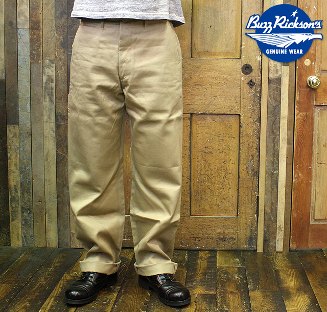 "No.M43035 BUZZ RICKSON'S バズリクソンズEARLY MILITARY CHINOS ""1945 MODEL"""