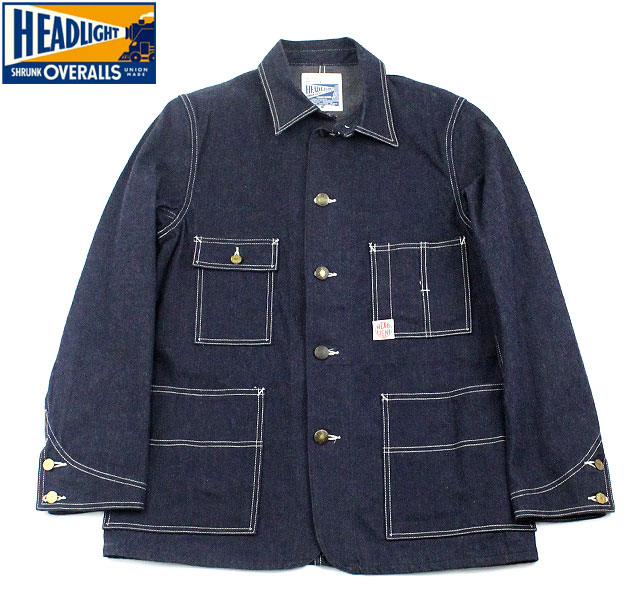 "No.HD12235 HEAD LIGHTヘッドライト11oz.""DENIM WORK COAT"""