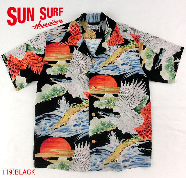 """No.SS36656 SUN SURF Special EditionS/S SHIRTS""""HAWK LIGHTED BY THE RISING SUN"""""""