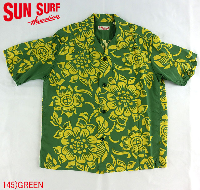 "No.SS36827 SUN SURF サンサーフS/S SHIRTS""BLOOMING BORDER"""
