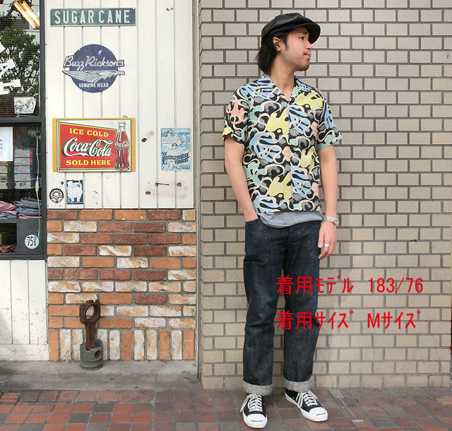 "No.SH36950 STAR OF HOLLYWOODSLUB COTTON SHIRT""WAVE LINE"", クシキノシ:3453f540 --- myneeds.jp"