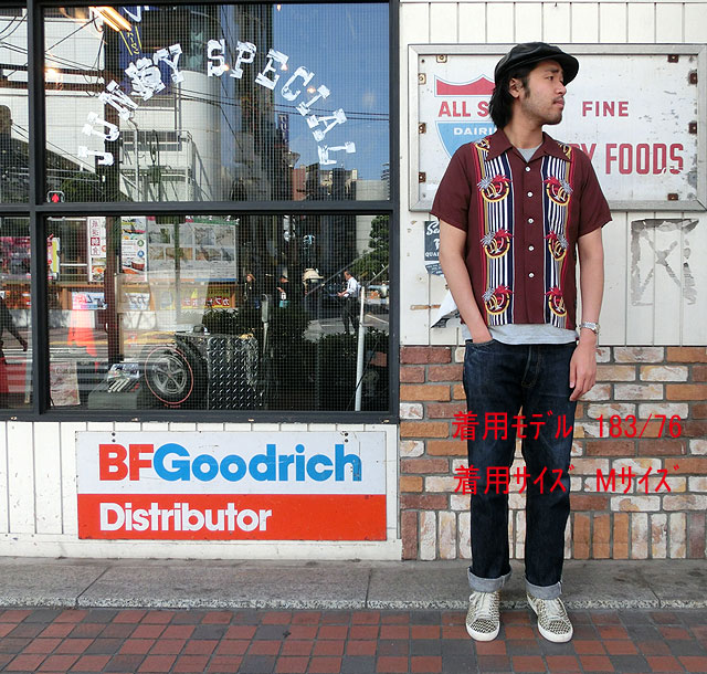 "No.DK36981 DUKE KAHANAMOKU デュークカハナモクSPECIAL EDITION""PALM & STRIPE"""