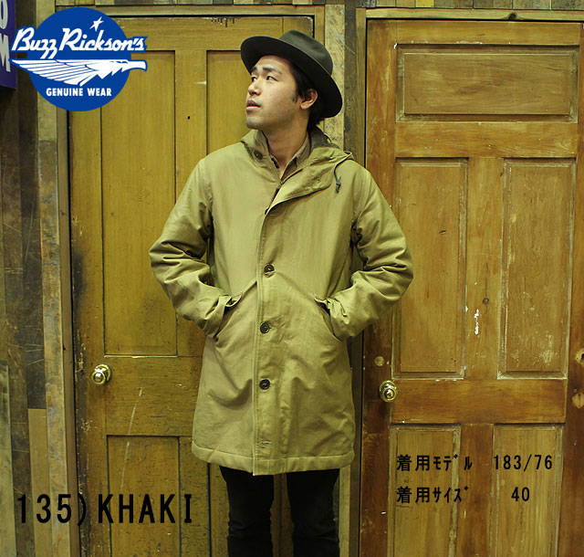 "No.BR13323 BUZZ RICKSON'S バズリクソンズtype DECK PARKA""NAVAL CLOTHING FACTORY"""
