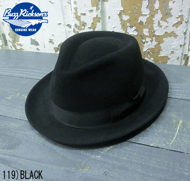 "No.BR02392 BUZZ RICKSON'S バズリクソンズWILLIAM GIBSON COLLECTION""FEDRA HAT""専用化粧箱入り"