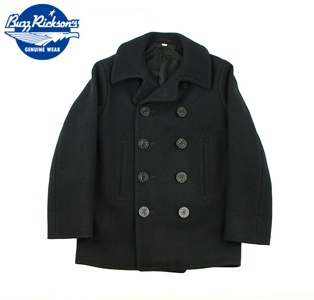 """No.BR11554 BUZZ RICKSON'Sバズリクソンズtype PEA COAT""""NAVAL CLOTHING FACTORY""""1910's MODEL"""