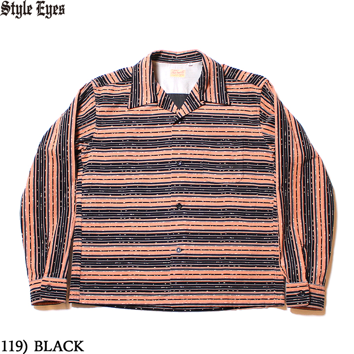 "No.SE28258 STYLE EYES スタイルアイズCORDUROY SPORTS SHIRT""NEP & STRIPES"""