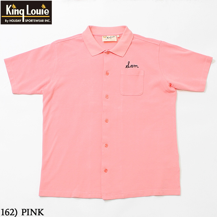 No.KL78532 KING LOUIE キングルイby HolidayS/S OPEN POLO SHIRT