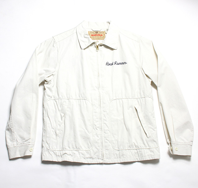 No SC13496 SUGAR CANE シュガーケーンROAD RUNNERCOTTON EMBROIDERED SPORTS JACKET3Lq5j4AR
