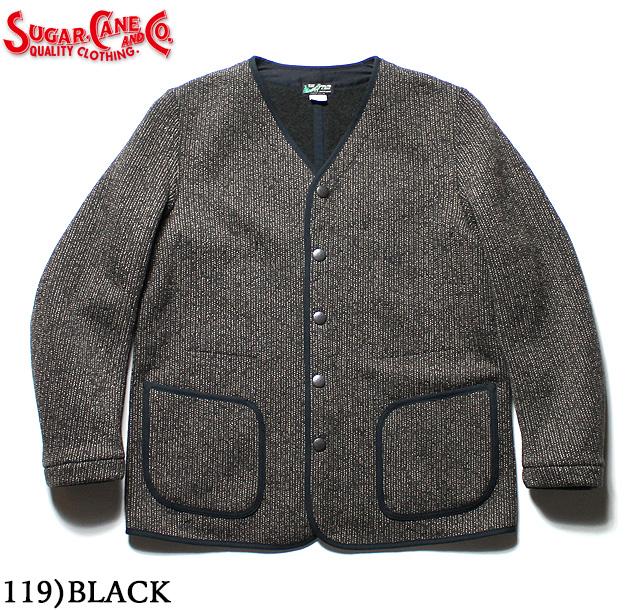 No.SC14285 SUGAR CANE シュガーケーンBEACH CLOTH NO COLLAR JACKET