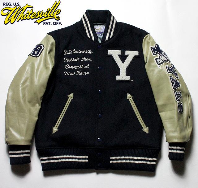 """No.WV14219 WHITESVILLE ホワイツビル30oz. Wool Melton Award Jacket"""" YALE """""""