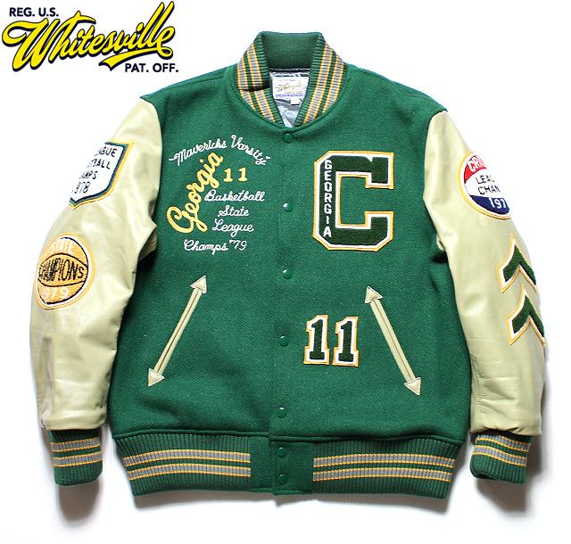 """No.WV14214 WHITESVILLE ホワイツビル30oz. Wool Melton Award Jacket""""MARVERICKS"""""""