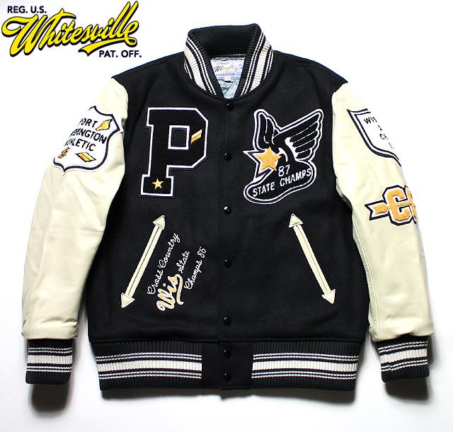 """No.WV14214 WHITESVILLE ホワイツビル30oz. Wool Melton Award Jacket""""PORT WASHINGTON"""""""