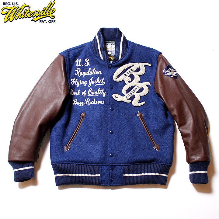 """No.WV14462 WHITESVILLE × BUZZ RICKSON'S30oz. Wool Melton Award Jacket"""" BUZZ RICKSON'S """""""