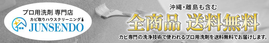 純閃堂楽天市場店:プロが使用する洗浄剤を販売する会社です。