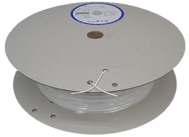 潤工社 ジュンフロンフレキシブルPTFE電線 絶縁体:多孔質PTFE 定格電圧250V AG52C030 お得なキャンペーンを実施中 白 連続使用温度+150℃ 50m 安値