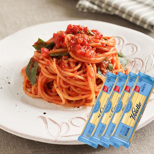一部予約 ヴォイエロ スパゲッティーニ 500g×4袋 1.7mm お買い得品 ヴォイエッロ パスタ ナポリ 保存食 イタリア