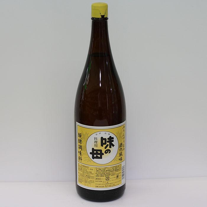 一本二役の発酵調味料 味の一醸造 お中元 味の母 みりん 1.8L 5☆好評