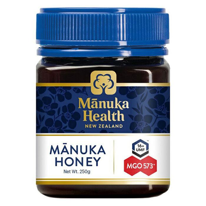 【送料込】富永貿易 マヌカヘルス ニュージーランド マヌカハニー MGO573+ UMF16+ 250g