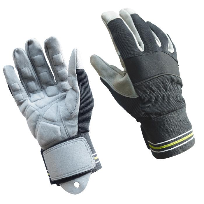 摩擦に強く手の平を痛めない 吸汗 速乾性にも優れます 洗って使える 万能型の振動吸収手袋 カラビナ付き 防振手袋 デコボコ 凸凹 引き出物 手袋 スーパーセール期間限定 No.0025 防振