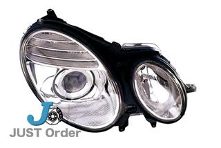 【ベンツ】W211後期 アクティブ付バイキセノンヘッドライト《右側のみ》/純正OEM-HELLA製