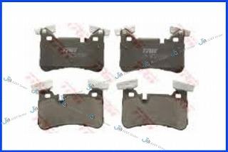 【ベンツ】W204/W212/W211/W219/W218/R230 AMGリアブレーキパット《左右set》/優良OEMメーカーTRW製