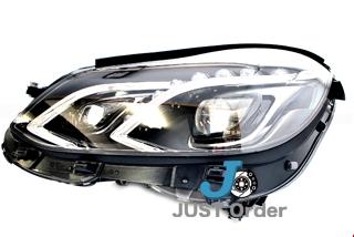 【ベンツ】W212後期 LEDヘッドライト《左側のみ》/純正品