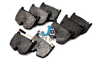 【ベンツ】W220/W215/W211/W219/R230 AMGフロントブレーキパット《左右set》/優良OEMメーカーTRW製