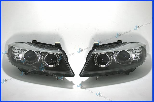 【BMW】E90/E91後期 バイキセノンヘッドライト《左右SET》/純正OEM製