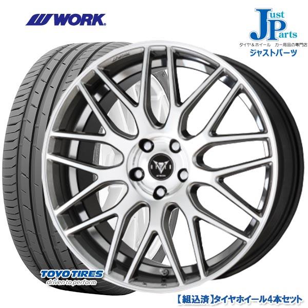 送料無料 215/45R18トーヨー プロクセス スポーツ TOYO PROXES SPORT新品 サマータイヤ ホイール4本セットWORK RYVER M009 ワーク レイバー18インチ 7.0J 5H114.3HSP