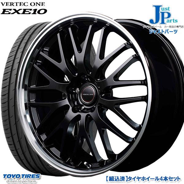 最新コレックション 送料無料 225/55R18トーヨー プロクセス CF2 SUVTOYO PROXES CF2 SUV新品 サマータイヤ ホイール4本セットヴァーテックワン VERTEC ONE EXE-10 EXE1018インチ 5H114.3, サイクルロード 025a3685