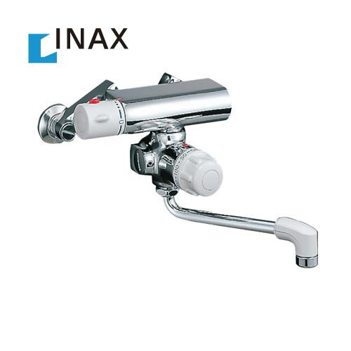 [BF-M340T] INAX イナックス LIXIL リクシル サーモスタット付バス水栓 壁付タイプ ミーティスシリーズ 定量止水 吐水口長さ:170mm【シールテープ無料プレゼント!(希望者のみ)※水栓の箱を開封し同梱します】 水栓 蛇口 混合水栓 浴室用 おしゃれ