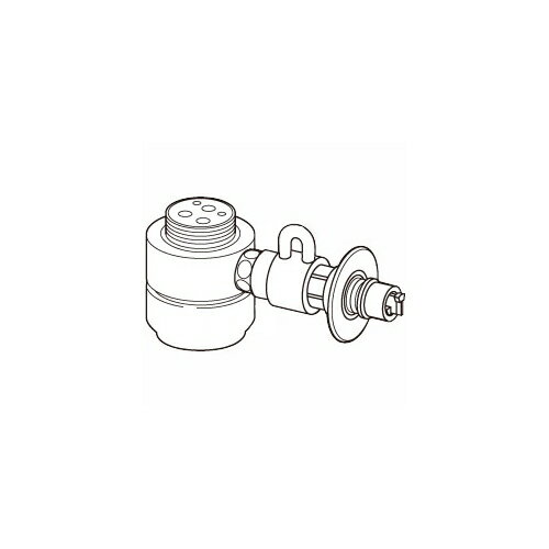 [CB-SKH6] パナソニック 分岐水栓 KVK製シングルレバー水栓KM5011シリーズに対応。