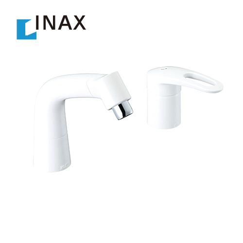 [LF-HX360SYR--BW1] INAX イナックス LIXIL リクシル 洗面水栓 ツーホールタイプ(コンビネーション) 蛇口 FWP・FYP/洗面タイプ マルチシングルレバー 混合水栓 泡沫 エコハンドル 抗菌ハンドル ホワイト 洗面 水栓 洗面台 洗面所 混合水栓 蛇口