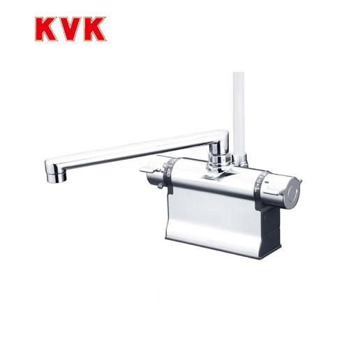 [KF3011TR2]KVK 浴室水栓 デッキ形サーモスタット式シャワー デッキタイプ(台付き) 240mmパイプ仕様 取付穴寸法:22~24 【送料無料】 おしゃれ