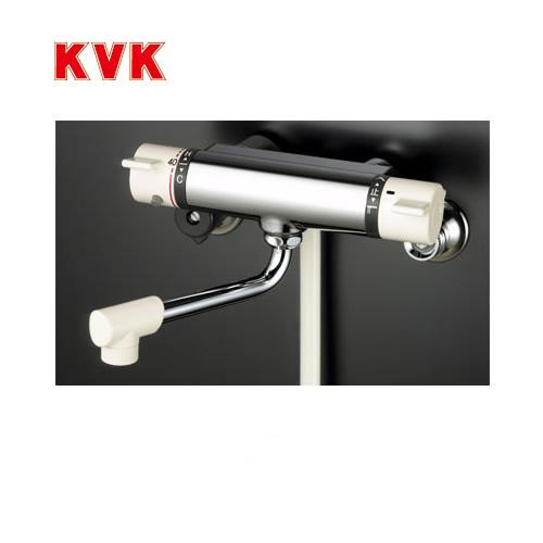 [KF800R2]KVK 浴室水栓 シャワー水栓 サーモスタットシャワー金具(壁付きタイプ) 240mmパイプ付 逆止弁 快適節水シャワー 蛇口 【送料無料】 壁付タイプ おしゃれ