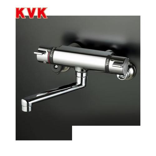 [KM800WT]KVK 浴室水栓 サーモスタット式混合栓 壁付タイプ