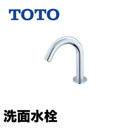 アクアオート(自動水栓) おしゃれ 蛇口 排水栓なし AC100Vタイプ ワンホールタイプ 洗面台 サーモスタット混合栓 コンテンポラリタイプ 洗面水栓 【工事対応不可】[TENA22A]TOTO 洗面所